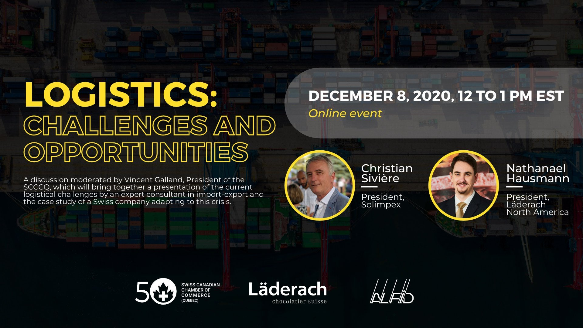Logistics: Challenges and Opportunities